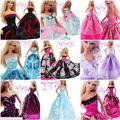 15 шт. = 5 платья 10 шт. аксессуары / Высокое качество ну вечеринку платье одежда юбка техники одежда для 1/6 Kurhn барби куклы