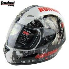 2015Tanked racing full face helmet moto adult mens cascos capacete motorcycle helmet motorbike helmet motocross helmets