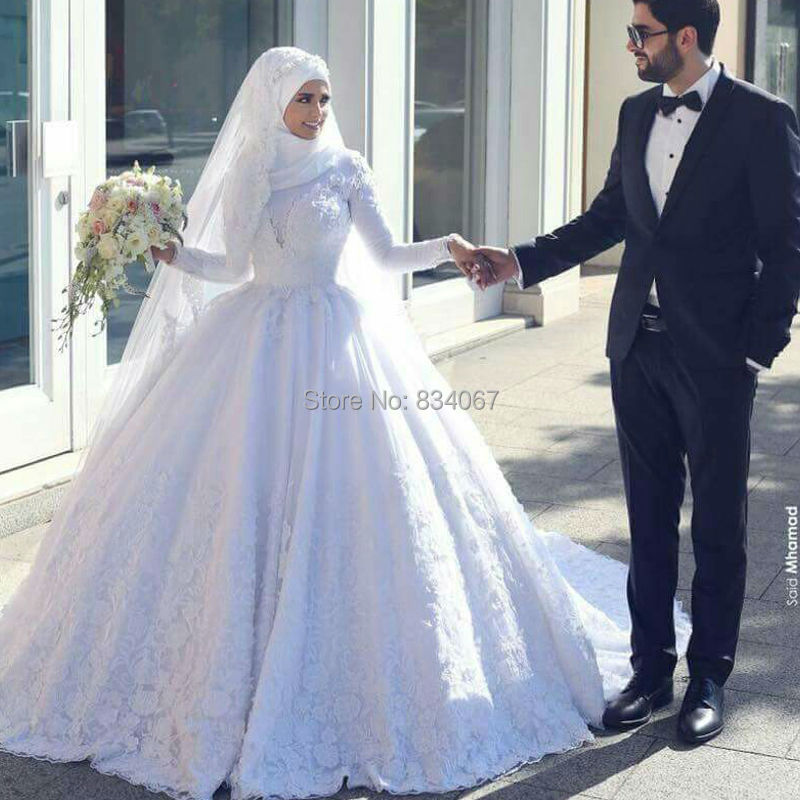 Islamic Wedding Dresses With Hijab 2017 : Popular islamic bride buy cheap lots from