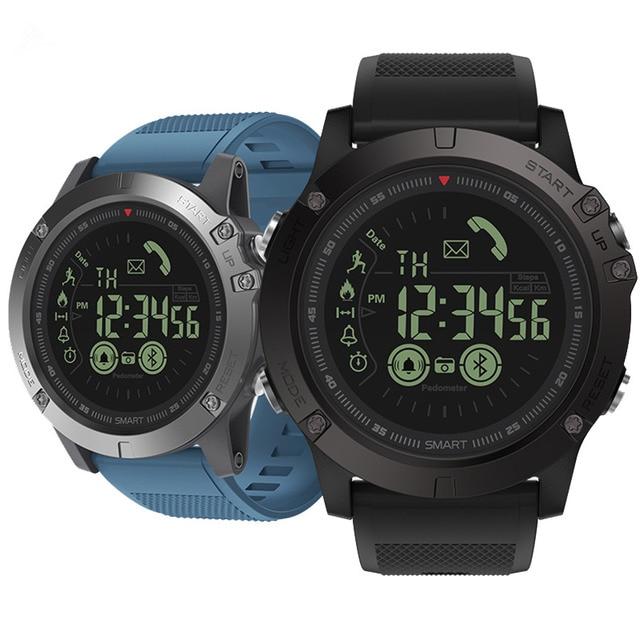 טוב VIBE 3 דגל מחוספס Smartwatch 33-חודש המתנה זמן 24 h כל מזג האוויר ניטור חכם שעון עבור IOS ואנדרואיד 25