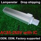 G24 LED pl 5W 9W 10W 11W 12W 13W 14W Saving Light Horizontal pl-c Plug Lamp SMD5050 g24d Light Bulb AC 85V-265V 110V 220V 230V