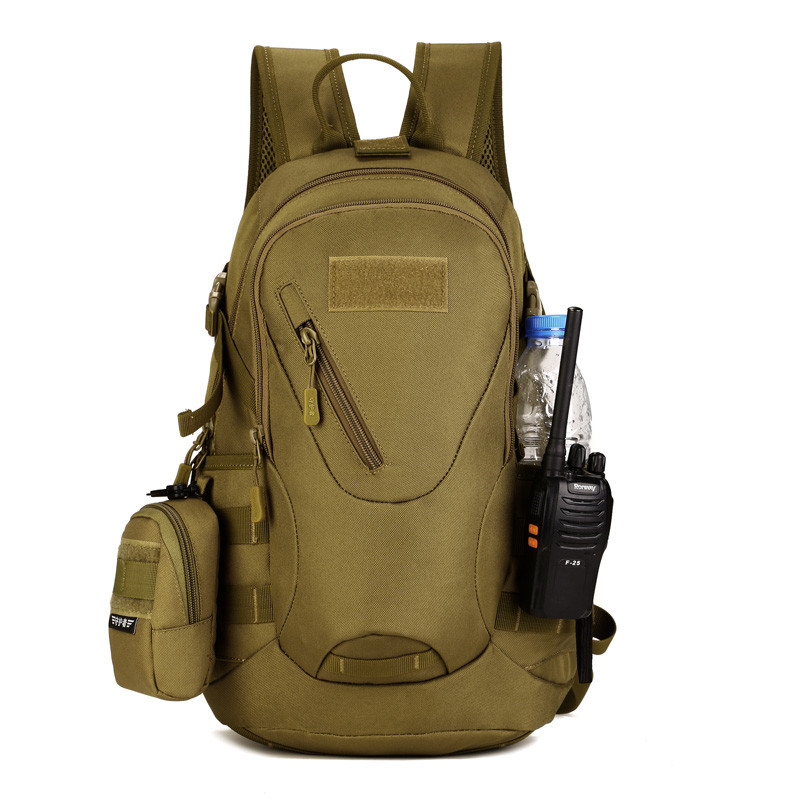 Ringed Penguin Waterproof 3D Military Tactics Backpack Rucksack Bag 20L for Hike Trek Camouflage Travel Backpack