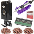30000RPM Portable Electric Nail Drill Machine Rechargeable Cordless Manicure Pedicure For Nail Equipment Tools Set