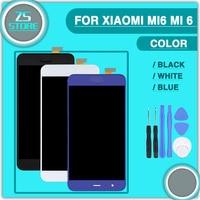 Mi 6 LCD Touch Panel For Xiaomi Mi6 Mi 6 5 15 Sensor Glass Lens Display