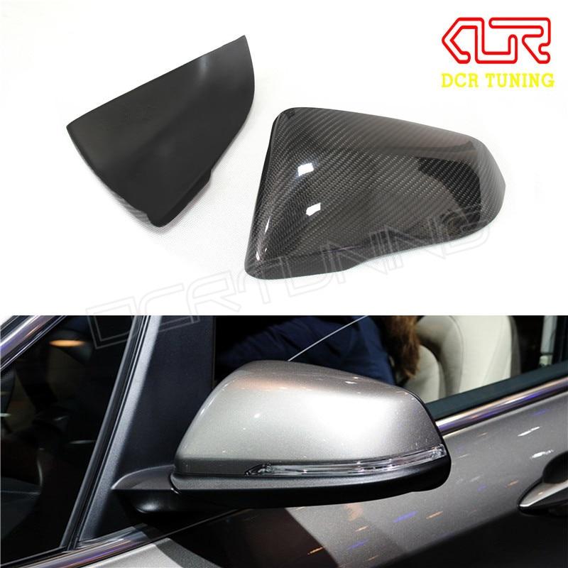 Touring Carbon Fiber Rear View Mirror For BMW 2 Series F45 F46 220i 228i M235i & 1 Series F52 X1 F48 2014 - UP