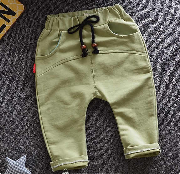 2017 New spring 4 colors baby boys casual pants