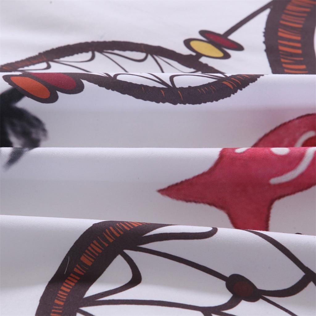Elegante Sogno Floreale Colorato Tre Pezzi Set di Biancheria Da Letto