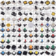 EziUsin 200 шт набор сенсорных микропереключателей с разными кнопками, набор для ремонта планшетных ПК с дистанционным управлением, тактильный прерыватель