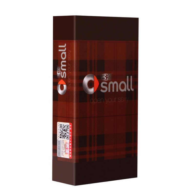Personage 30 Pcs/Pack petite taille 2 types G spot grande particule et Slim serré en caoutchouc naturel Latex préservatifs pour hommes grande huile