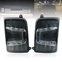 For Lada Niva 4x4 1995 LED Tail Lights with Running Light Turn signal PMMA / ABS Plastic rear taillight