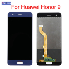 For Huawei Honor 9 LCD Screen Replacement LCD Display Touch Screen Digiziter Assembly For Huawei Honor 9 5.15inch Black White white black gold for huawei ascend mate s lcd display screen touch digiziter assembly with frame free shipping