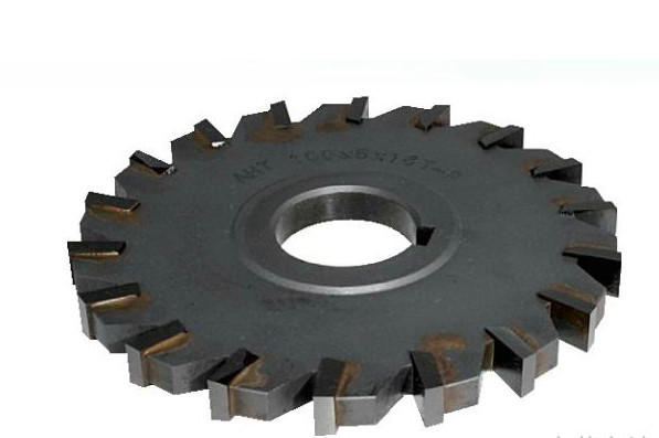Welding blade type ultrafine tungsten steel side milling cutter  200mm 24T