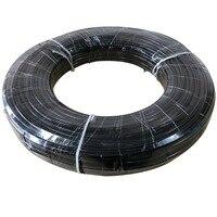 100 м 3/8 дюйма Внутренняя Диаметр 4 мм наружный диаметр 9,52 мм PE трубы для высокого Давление туман охлаждения Системы трубка для полива сада
