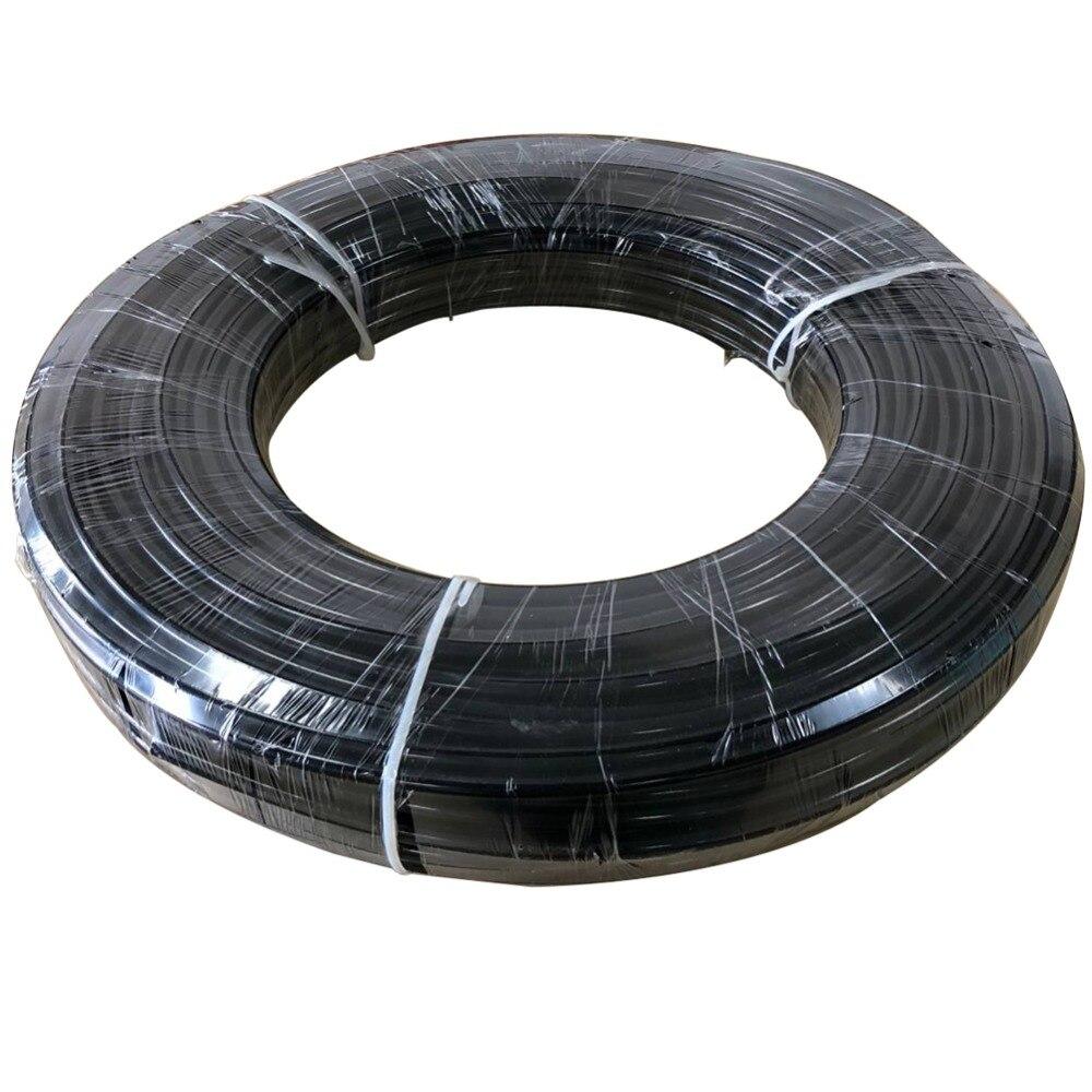 100 m 3/8 Polegada 4mm Diâmetro Outter Diâmetro Interno 9.52 milímetros Tubo PE Para O Sistema de Refrigeração Da Névoa de Alta Pressão jardim Tubo De Irrigação