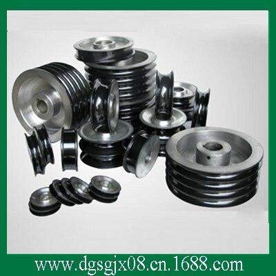 Ceramic coating aluminium guide pulleys/capstans high precious aluminium guide pulleys capstans with coating ceramic