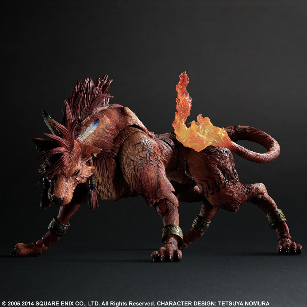 Final Fantasy VII : Advent Children RedXIII 23cm PVC Action Figure Collection Toy Doll final fantasy type 0 hd
