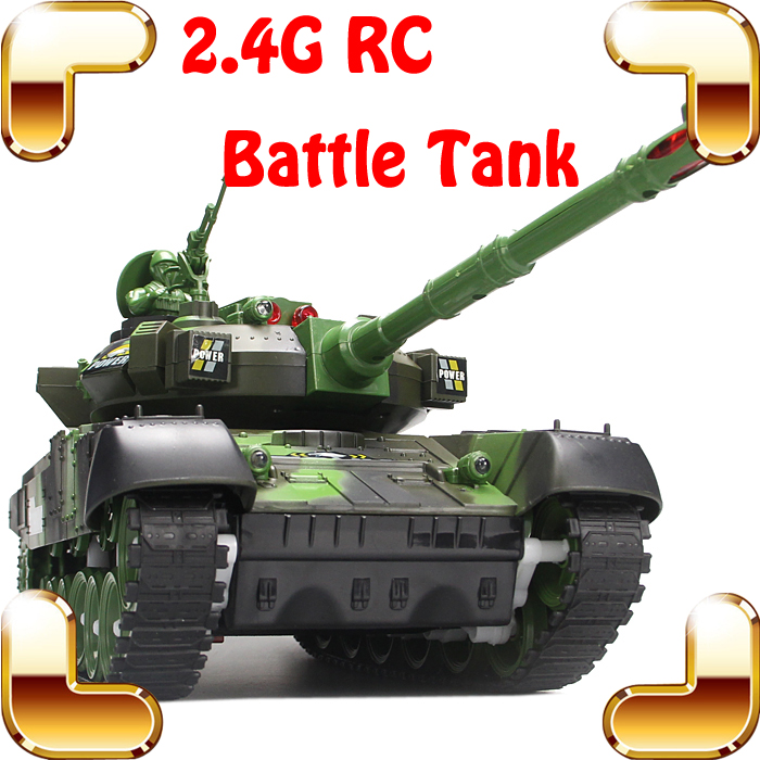 Children Day Gift Fighting Battle Tanks 2.4G 10 Channel RC Infrared Shooting Tank Electric Toy Army Vehicle Big War Tank Present tamiya model tank rising u s m60a1 battle tanks with reactive armor tanks 35157
