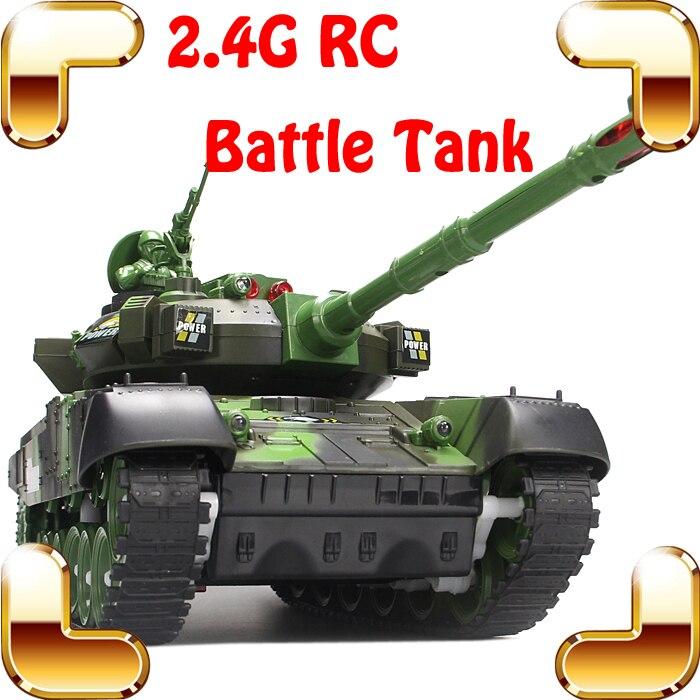 Enfants jour cadeau combat bataille réservoirs 2.4G 10 canaux RC infrarouge tir réservoir électrique jouet armée véhicule grand réservoir de guerre présent