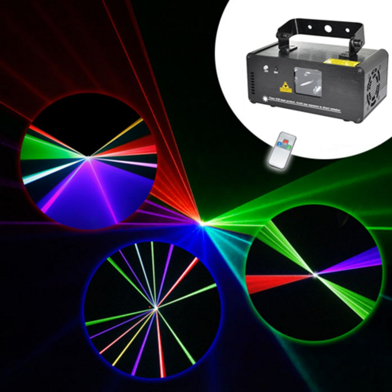 NEW Remote DMX RGB RED Green Blue Laser Stage Lighting Scanner DJ Dance Xmas Show LED Effect Projector Fantastic Disco item