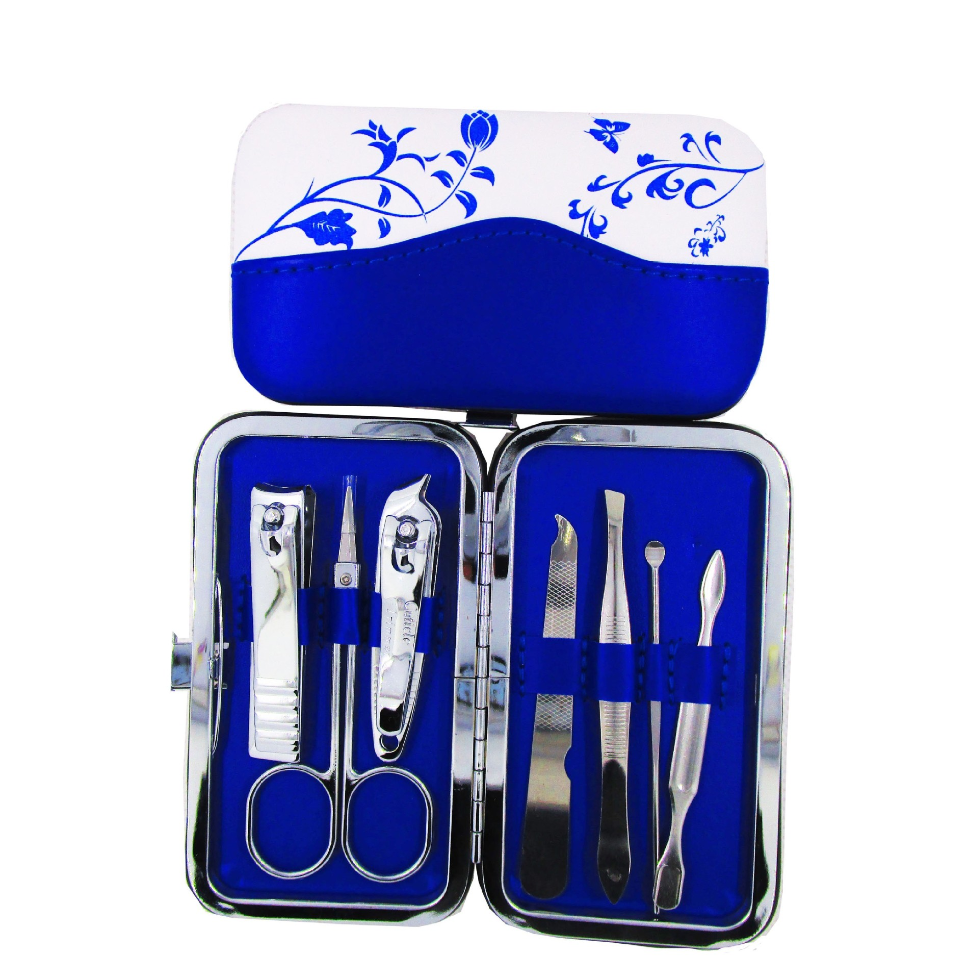 Cut Price 7Pcs/Set Stainless Steel Nail Manicure Set Health Beauty ...
