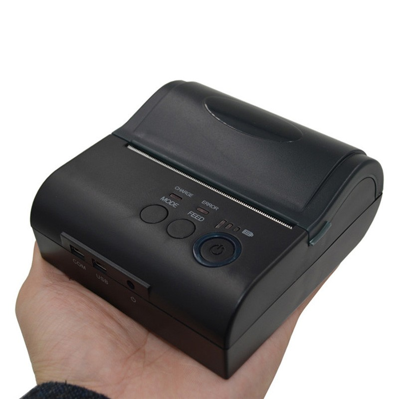 5PCS Mini mobile WIFI Wireless Thermal Receipt Printer for Android IOS mht 8001 wireless thermal printer with battery android and ios system bluetooth mobile thermal printer