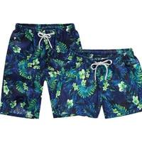 Mortonpart Men and Women Printed Beach Shorts Quick Dry Shorts Swimwear Swimsuit Swim Trunks Beachwear Surf Board Shorts