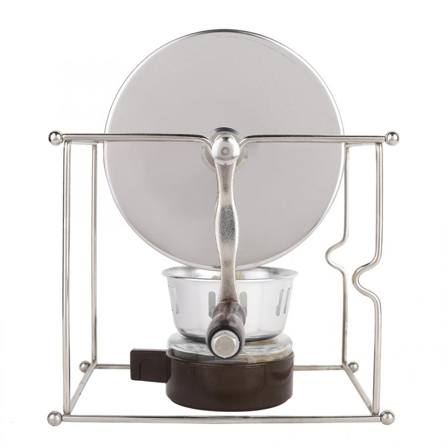 Housewhold Cafe 1Pc Mini Manual Coffee Beans Roasting Machine DIY Stainless Steel Rollers With Handle Coffe