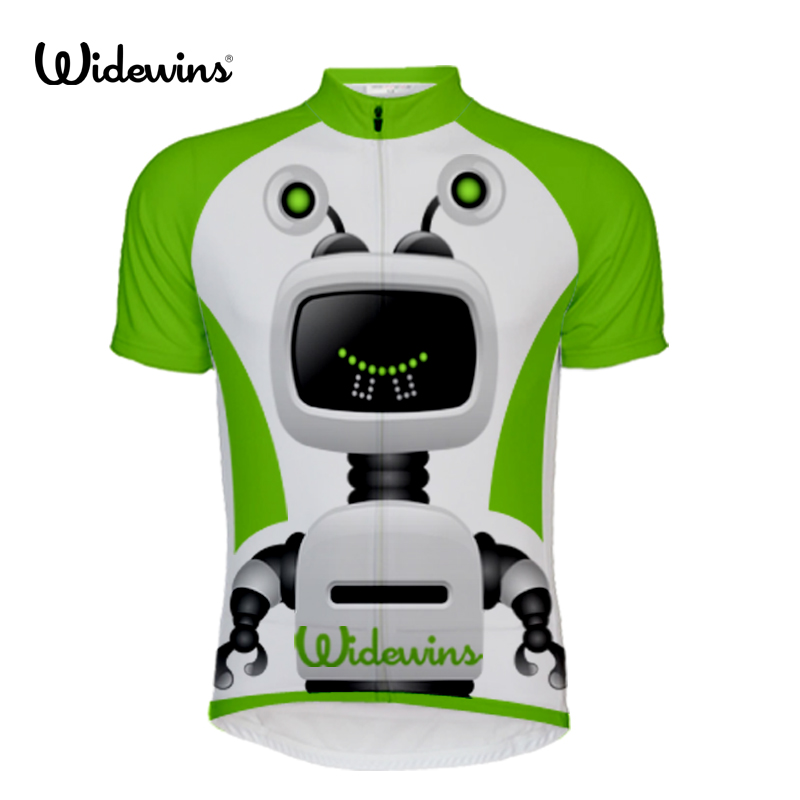 Robot ask answer Bicycle Men's Cycling Jersey Top Summer Maillot Roupa Ciclismo Bike Sport Wear Cycling Clothing 5710