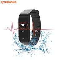 RIVERSONG Na Sprzedaż Inteligentne Nadgarstek Zegarek Monitora Snu i Usłyszeć Rater Aktywny Tracker Bransoletka Sportu
