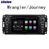 Liislee Android Car Navigation GPS For Jeep Wrangler Journey 2007 2010 Audio Video Radio HD Screen