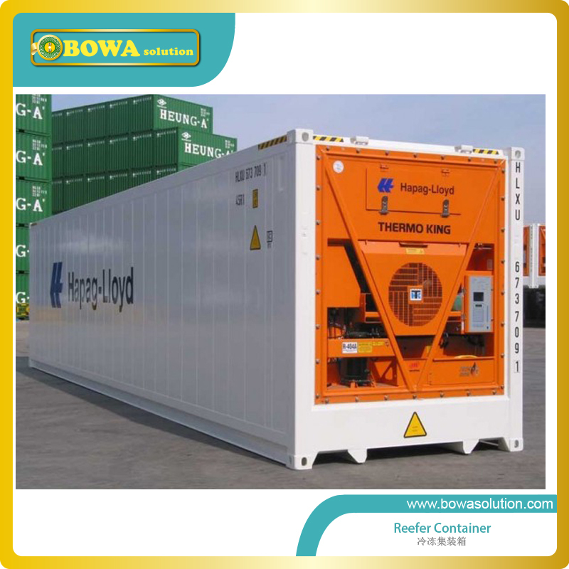 40ft refeer container  whose price including 6980dollars shipping costs that means FOB Shanghai price is 23000dollars