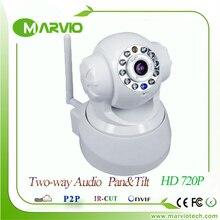 Лучшие Продажи, 720 P инфракрасного Ночного Видения wifi ip-камера видеонаблюдения главная безопасность сигнализация ipcamera камеры P2P облако, бесплатная Доставка