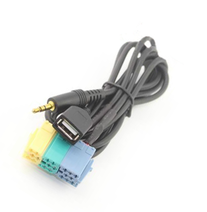 imágenes para Radio Cable Adaptador para Hyundai Kia AUX Entrada USB