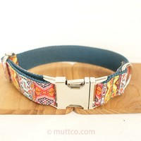 NEWEST Handmade Timeproof Dog Collar THE BOHEMIAN Creative Ethnic Style Dog Collars And Leashes 5 Sizes