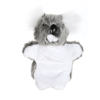 Cute Koala Turtle Cat Hand Puppet Baby Kids Child Educational Soft Animal Doll Plush Toy Parent-child Games Hand Puppet Toy