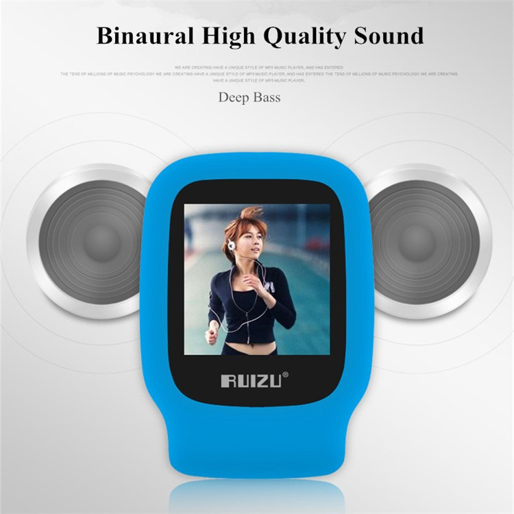 Ruizu X09 Mini Mp3 Player Running Sports Clip Mp3 Walkman Support Tf