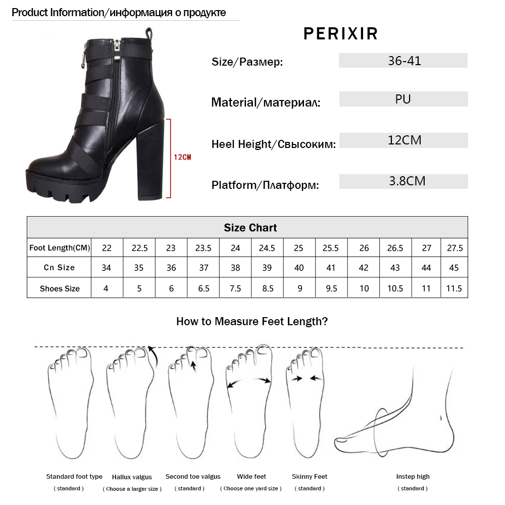 Image 5 - 2019 Spring Fashion Black Boots Women Heel Spring Autumn Lace up Soft Leather Platform Shoes Woman Party Ankle Boots High Heels-in Ankle Boots from Shoes