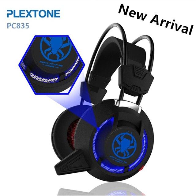 Super Bass Fones de ouvido de Jogos Com Luz Grande Sobre A Orelha Levou Telefone Com Fio de fone de ouvido Usb Com Microfone Headset Para Jogos de Computador PC