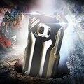 Для Samsung Galaxy S7 гибридные авиационного алюминиевого сплава металла противоударный водонепроницаемый телефон чехол двухслойный полная защита