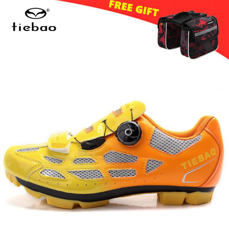 TIEBAO Mountain Bike Shoes Racing Men MTB Bicycle Cycling Shoes Self-Locking Nylon-Fiberglass zapatillas ciclismo Riding Shoes tiebao professional men bicycle shoes athletic racing mtb cycling bike mountain self locking shoes zapatillas ciclismo