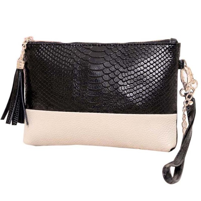 2018 Fashion Tassel Women Messenger Bags Crocodile Pattern Leather Handbag  Ladies Chain Crossbody Shoulder Bag Bolsa 17ce60f3bea7b