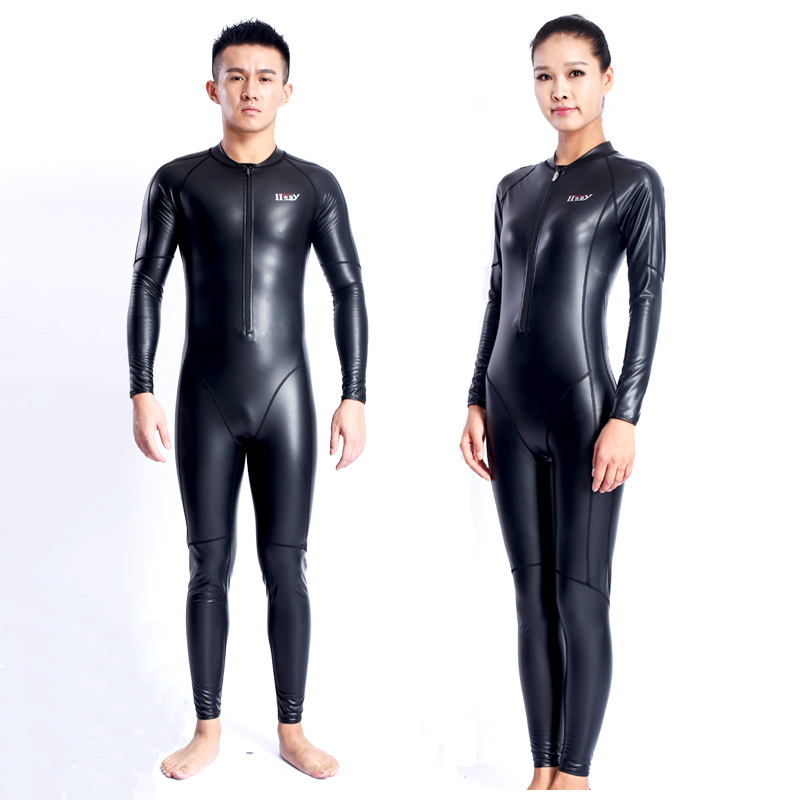 2017 New Kitesurf Neopreno High Quality Men Women Long Sleeve Swimwear Pu Velvet Body Swimsuit One-piece Warm Diving Wetsuit high quality zipper long sleeve women swimsuit round collar sexy one pieces swimwear girl wetsuit diving swimming suit