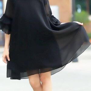 Image 5 - נער בנות קיץ שמלת 2020 ילדה קטנה שיפון dressees שחור ילדים בגדי vestido גודל 45 6 7 8 9 10 11 12 13 14 15 שנים