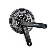 PROWHEEL 7/8/9 Speed Bike Crank Set MTB 24/34/42T Bicycle Crank Set Hollow Tooth Plate 170mm Bicycle Crankset Sprocket