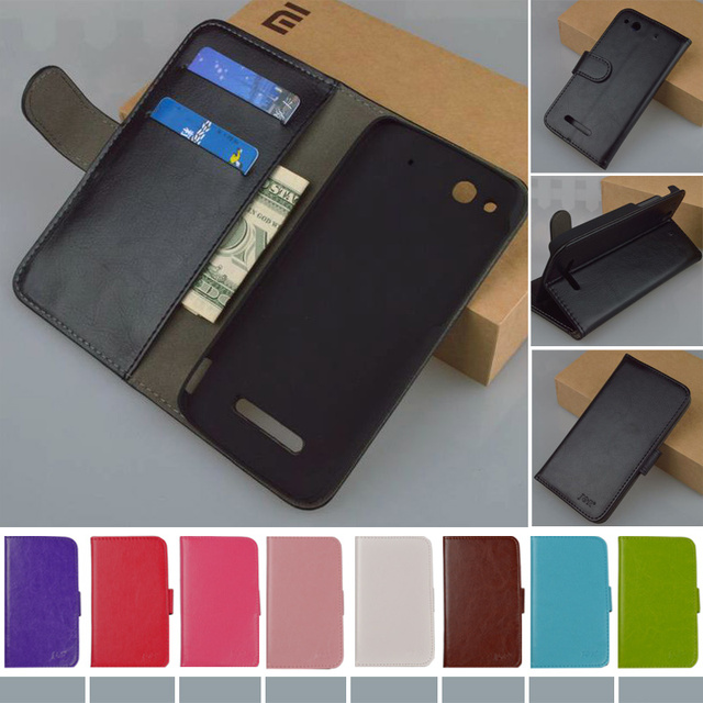 Flip Retro PU Leather Case for Alcatel One Touch Idol Alpha 6032 6032A 6032X OT6032 Cover Book style J&R Brand cases 9 colors