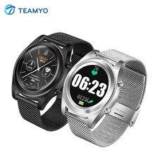 Teamyo Arrival G8 smart watches Fitness Tracker bracelet ip68 blood pressure leather Steel Smart watch Bracelet Wearable devices