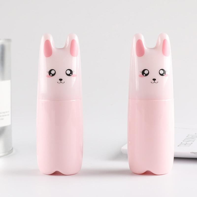 70ml Cartoon Perfume Atomizer Spray Bottle Cosmetic New Empty Pump Container Pink Cat Bottels
