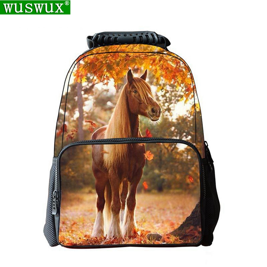 Student Backpacks New Fashion Personality Printing School Backpacks 3D Cute Animal Children Backpack Large Capacity  School Bag
