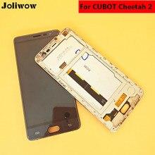 Original для Cubot Cheetah 2 ЖК-дисплей Дисплей + Сенсорный экран + Рамки планшета Ассамблеи Замена Аксессуары для телефонов 5.5″