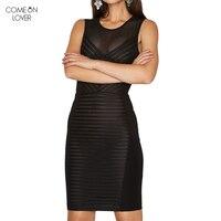 Comeonloverร้านค้าออนไลน์จีนหญิงเสื้อผ้าชุดสีดำ